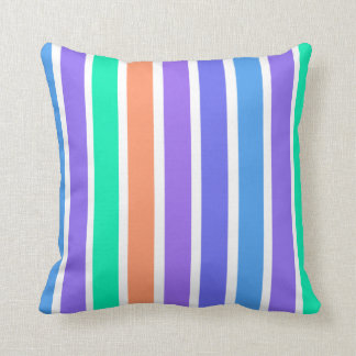 Colourful stripes pattern design zierkissen