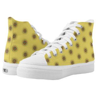 Colourfull abstrakter Sun Hoch-geschnittene Sneaker