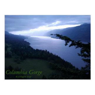 Columbia River Schlucht Postkarte