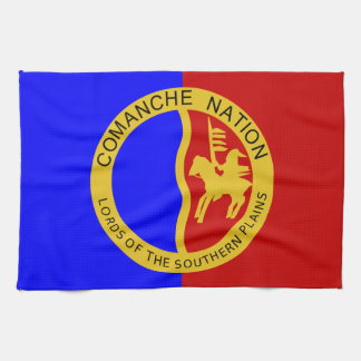 Comaanche Nations-Flagge Handtuch