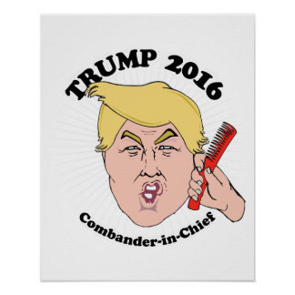 Combander-in-Leiter - Trumpf Toon 2016 - Trumpf Poster