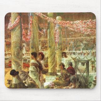 Combat d'ours de Lawrence Tadema-A dans le Colisé Tapis De Souris
