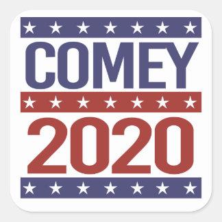 COMEY 2020 - - QUADRATISCHER AUFKLEBER