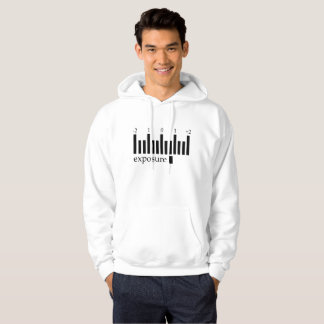Comfortable photography exposure scale hoody