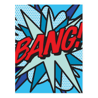 Comic-Buch KNALL! Postkarte