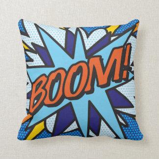 Comic-Buch-Pop-Kunst BOOM! LAUTES SUMMEN! Kissen