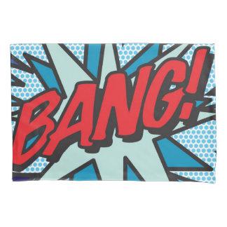 Comic-Buch-Pop-Kunst KNALL! KRIEGSGEFANGEN! Kissen Bezug