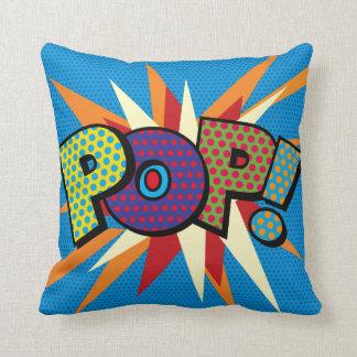 Comic-Buch-Pop-Kunst POP! Kissen