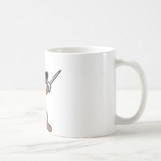comic dog kaffeetasse