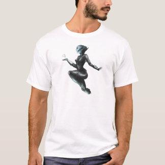 Comic-Heldin/Fisch-Dame T-Shirt