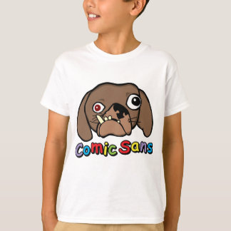Comic ohne Hund T-Shirt