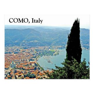 Como in Italien - Postkarte