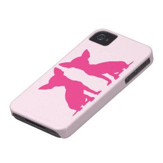 Compagnon audacieux mignon de caisse de Blackberry Coques iPhone 4