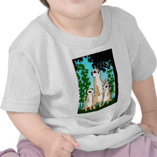 Comparez mon Meerkats jumeau T-shirt