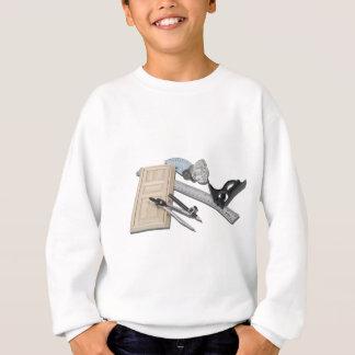 CompassRulerDoorKnobTools021411 Sweatshirt