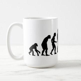 Computer-Evolution Tasse