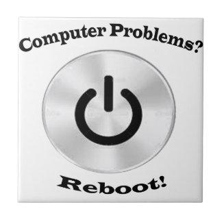 Computer-Problem-gotische Schriften Kleine Quadratische Fliese