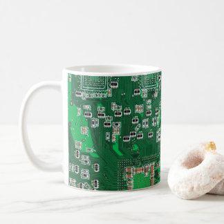 Computergeek-Leiterplatte-Kaffee-Tasse Tasse
