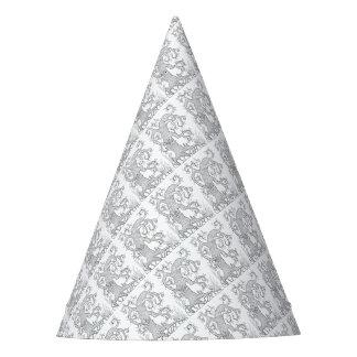 Conception arbre deux de schéma chapeaux de fêtes