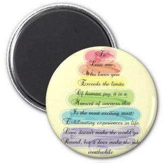 """Conception Artsy d'arbre de cadeaux de poème de """"a Magnets Pour Réfrigérateur"""