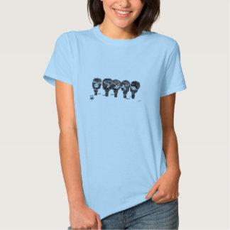 Conception de bande dessinée d'Emo T-shirts