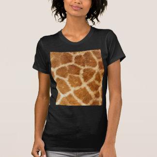 Conception de peau de girafe t-shirt