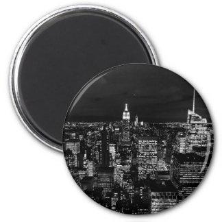 Conception de ville magnet rond 8 cm