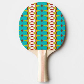 Conception espiègle sur la palette de ping-pong raquette de ping pong