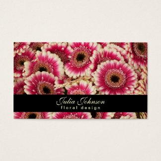 Conception florale - carte de visite de fleuriste
