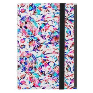 Conception florale colorée mignonne coque iPad mini