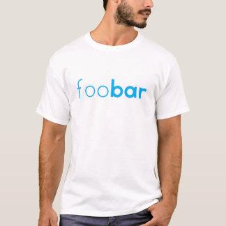 "conception Geeky de codage ""de barre de foo"" T-shirt"