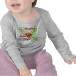 Conception heureuse de Noël de jours de houx T-shirt