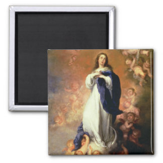 Conception impeccable d'Escorial, c.1678 Magnets