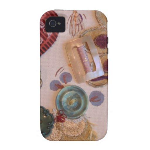 Conception imprimée et cousue de main coques iPhone 4/4S