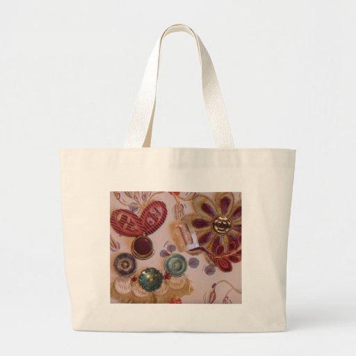 Conception imprimée et cousue de main sacs de toile
