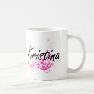 Conception nommée artistique de Kristina avec des Mug Blanc