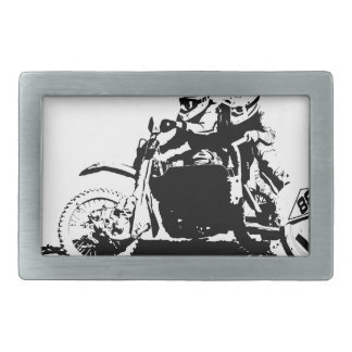 Conception simple de Sidecarcross Boucles De Ceinture Rectangulaires