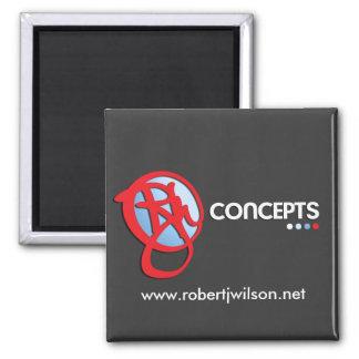 Concepts de RJW Magnet Carré