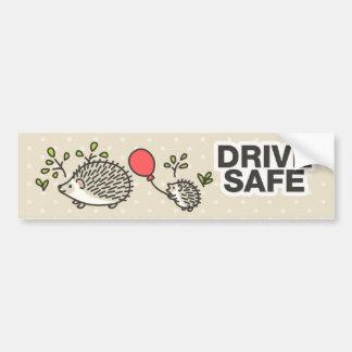 Conduisez le coffre-fort ! autocollant de voiture