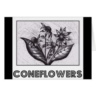Coneflowers Grußkarte