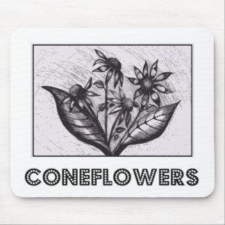 Coneflowers Mauspads