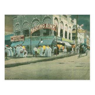 Coney Island-Brandungs-Allee Postkarte