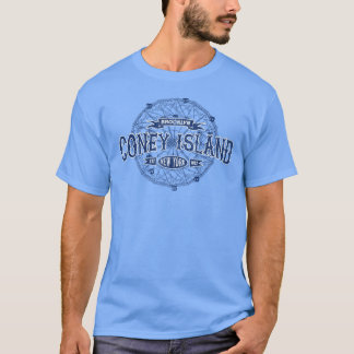 Coney Island Brooklyn New York Retro Amerika T-Shirt