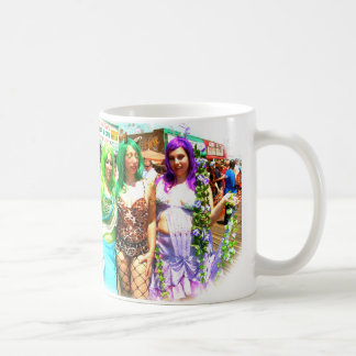 Coney Island-Meerjungfrauen Kaffeetasse