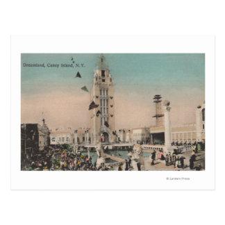 Coney Island, NY - Traumland-Fahrt Postkarte