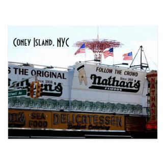 Coney Island, NYC Postkarte