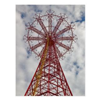 Coney Island-Postkarte Postkarte