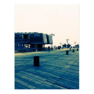 Coney Island-Promenade Postkarte