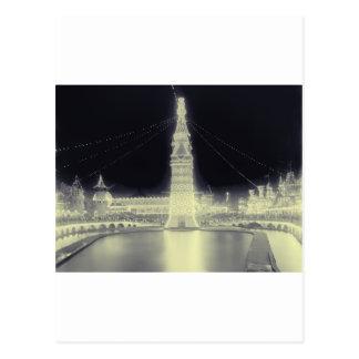 Coney Island-Vergnügungspark Postkarte