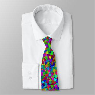 Confetti - mehrfarbig bedruckte krawatte